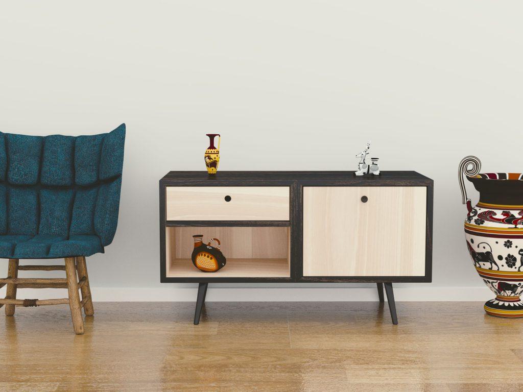 Visa möblerna i rätt byggnad